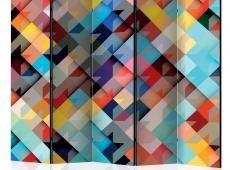 Paraván - Colour Patchwork II [Room Dividers]